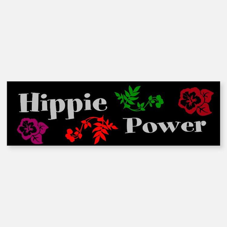 Hippie Power (bumper) Bumper Bumper Bumper Sticker