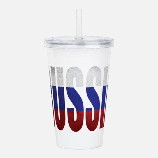 Russia Acrylic Double-wall Tumbler