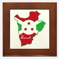Cool Burundi Framed Tile
