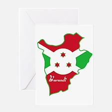 Cool Burundi Greeting Card