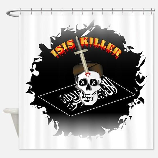 Isis Killer Shower Curtain