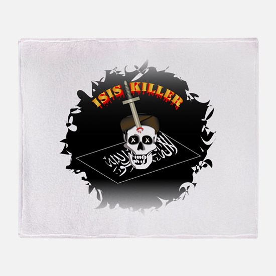 Isis Killer Throw Blanket