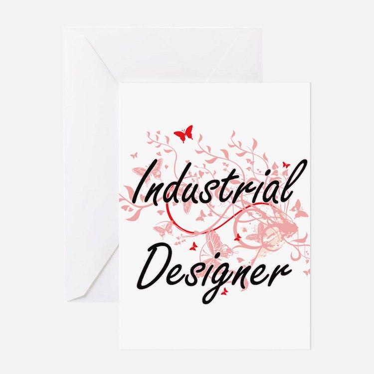 Industrial Designer Artistic Job De Greeting Cards