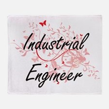 Industrial Engineer Artistic Job Des Throw Blanket