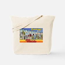 Springfield Massachusetts Greetings Tote Bag