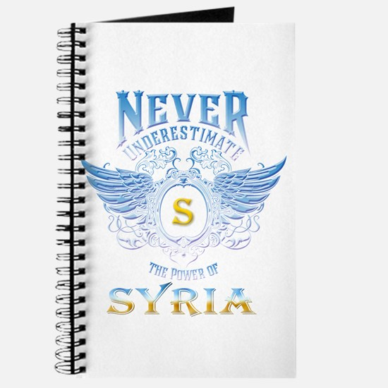 never underestimate the power of Syria Journal
