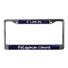 Funky Love Patagonian Conure License Plate Frame