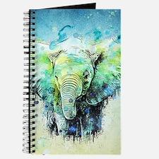 watercolor elephant Journal