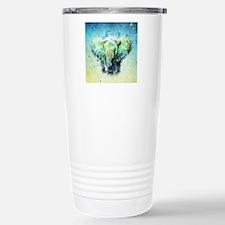 watercolor elephant Stainless Steel Travel Mug