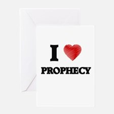 I Love Prophecy Greeting Cards