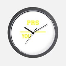 PRS thing, you wouldn't understand! Wall Clock