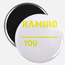 RAMIRO thing, you wouldn't understand! Magnets