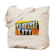 Traverse City Michigan Tote Bag