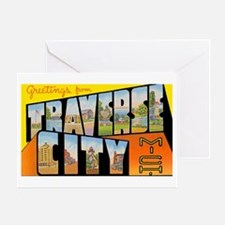 Traverse City Michigan Greeting Card