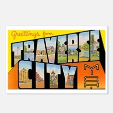 Traverse City Michigan Postcards (Package of 8)
