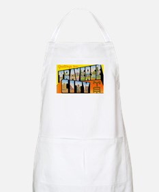 Traverse City Michigan BBQ Apron