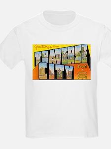 Traverse City Michigan (Front) T-Shirt