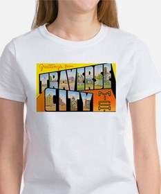 Traverse City Michigan (Front) Women's T-Shirt