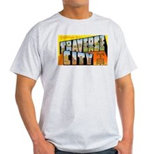 Traverse City Michigan (Front) T-Shirt