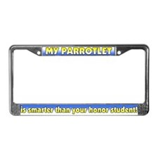 Honor Student Parrotlet License Plate Frame