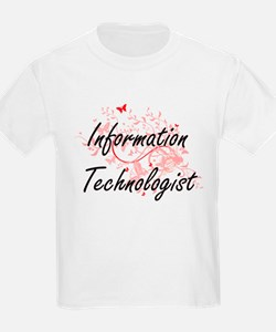 Information Technologist Artistic Job Desi T-Shirt