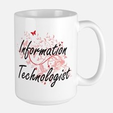 Information Technologist Artistic Job Design Mugs