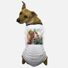 Pit Bull Painting Dog T-Shirt
