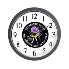 USS Morton (DD 948) Wall Clock
