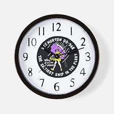 USS Morton (DD 948) Wall Clock