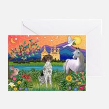 Fantasy Land / German SH Poin Greeting Cards (Pk o