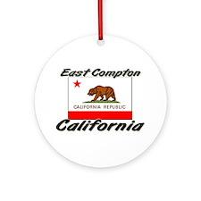 East Compton California Ornament (Round)