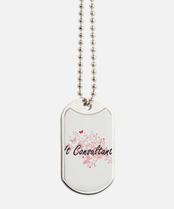It Consultant Artistic Job Design with Bu Dog Tags