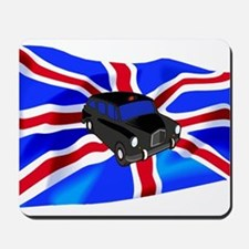 Black Cab Union Jack Mousepad