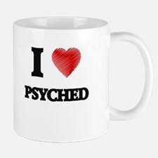 I Love Psyched Mugs