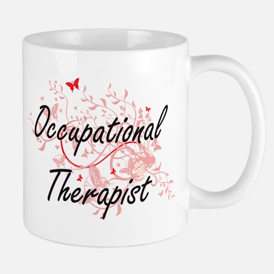 Occupational Therapist Artistic Job Design wi Mugs
