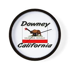 Downey California Wall Clock