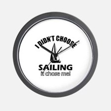Sailing Choose Me Wall Clock