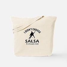 Salsa Choose Me Tote Bag