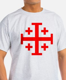 Crusaders Cross (Red) T-Shirt