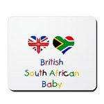 British South African Baby Mousepad