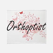 Orthoptist Artistic Job Design with Throw Blanket