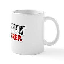 """The World's Greatest Sales Rep."" Mug"