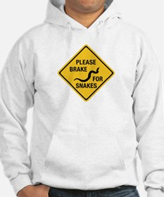 Please Brake For Snakes, Canada Hoodie