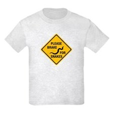 Please Brake For Snakes, Canada T-Shirt
