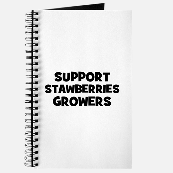 support stawberries growers Journal