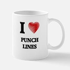 I Love Punch Lines Mugs