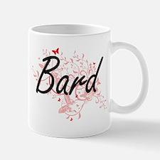 Bard Artistic Job Design with Butterflies Mugs