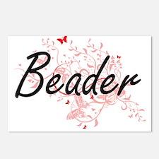 Beader Artistic Job Desig Postcards (Package of 8)