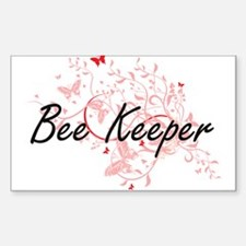 Bee Keeper Artistic Job Design with Butter Decal