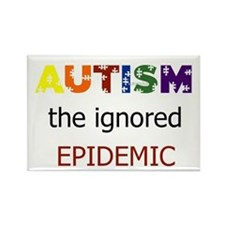 The ignored epidemic Rectangle Magnet